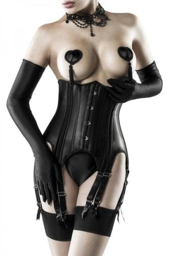 4-piece Suspender-Corsage Set