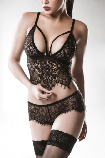 two-part Lace Set by Grey Velvet