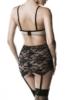 3-piece lingerie garter set by Grey Velvet