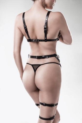 3-piece erotic set by Grey Velvet