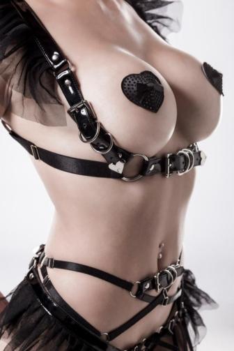 4-piece erotic set by Grey Velvet